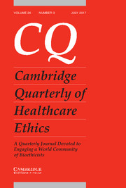 Cambridge quarterly prize essay